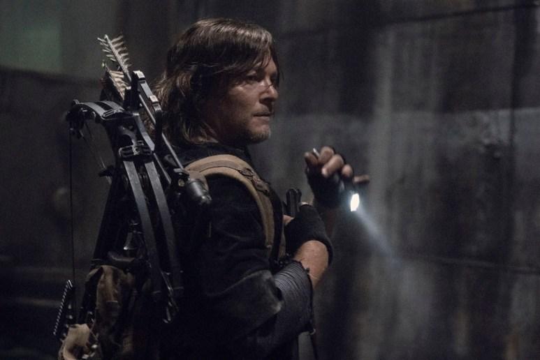Norman Reedus as Daryl Dixon, as seen in Season 11 of AMC's The Walking Dead