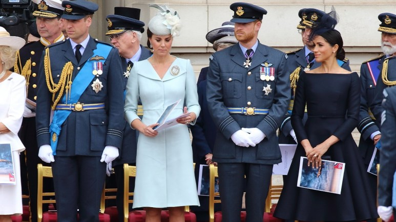 The Cambridges and the Sussexes attend a royal event together
