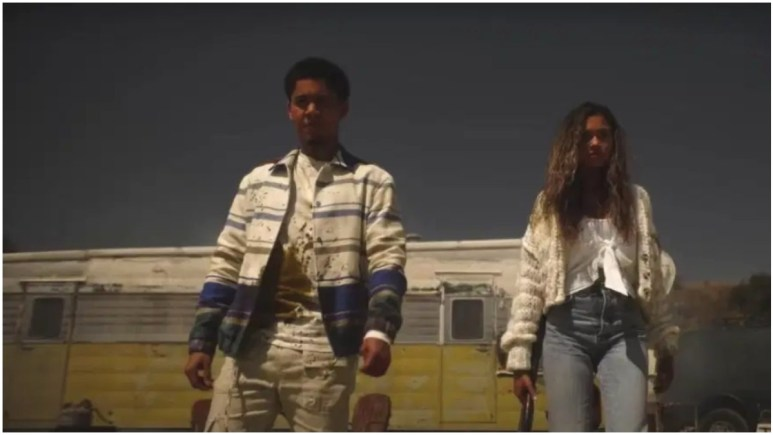 Rhenzy Feliz as Chad and Madison Bailey as Kelley, as seen in Episode 2 of FX's American Horror Stories