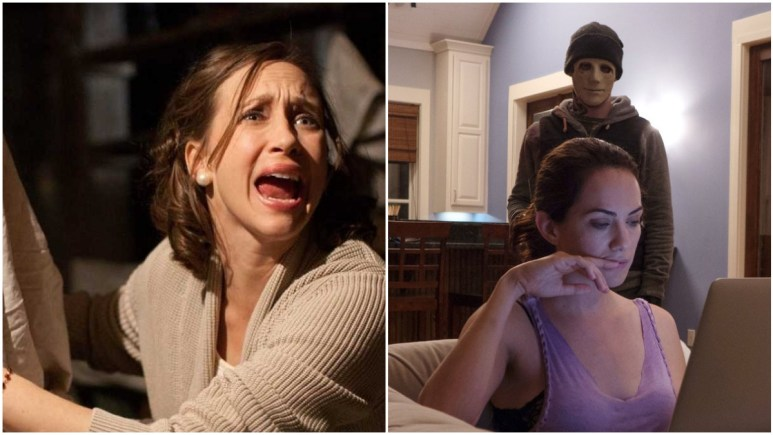 The Conjuring and Hush on Netflix