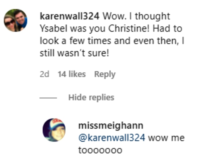 Christine Brown of Sister Wives on Instagram
