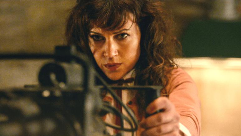Image of Carla Gugino in Gunpowder Milkshake.