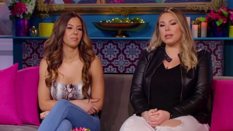 Teen Mom 2 star Kailyn Lowry may have had a falling out with Vee Rivera