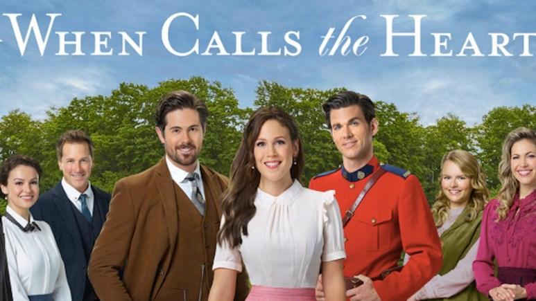 The cast of Hallmark Channel's When Calls the Heart.