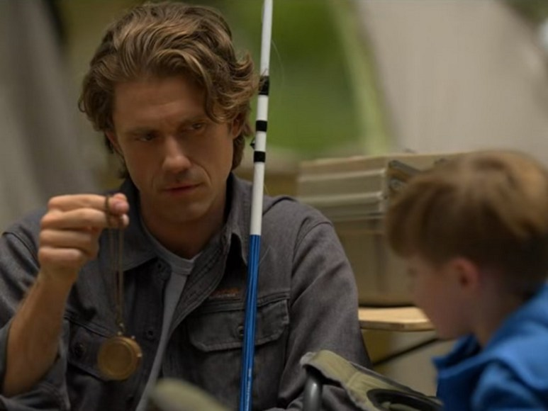 Aaron Tveit as Jay and Colin Tandberg as Jacob, as seen in Episode 6 of FX's American Horror Stories