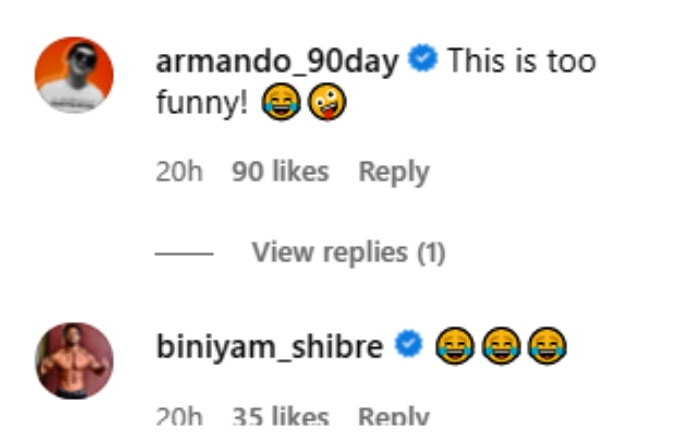 jenny and sumit's castmates thought their post was funny on instagram