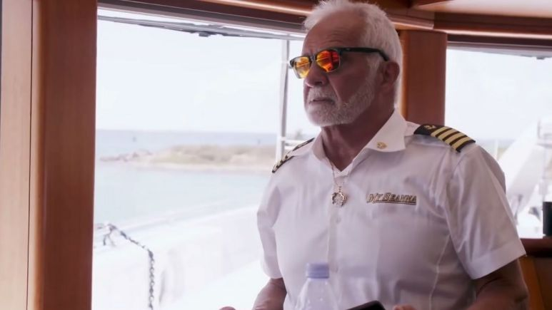 Why is Captain Lee Rosbach missing for part of Below Deck Season 9?