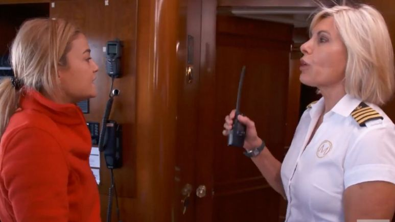 Captain Sandy Yawn and Malia White clash in Below Deck Mediterranean Season 6 midseason trailer.
