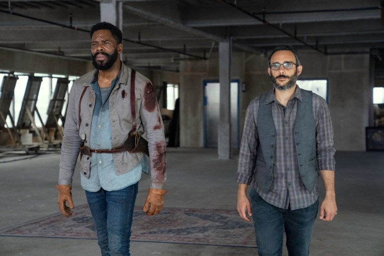 Colman Domingo as Victor Strand and Omid Abtahi Howard, as seen in Episode 16 of AMC's Fear the Walking Dead Season 6
