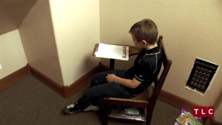 Homeschooling the children.