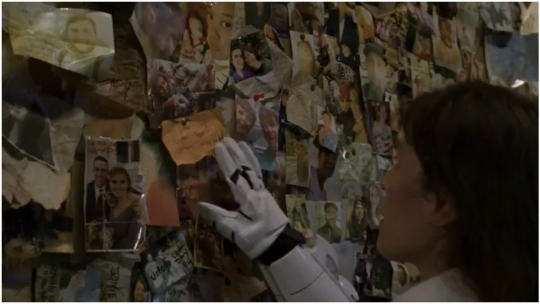 Eleanor Matsuura stars as Yumiko, as seen in Episode 1 of AMC's The Walking Dead Season 11