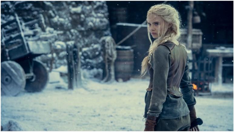 Freya Allan stars as Ciri, as seen in Season 2 of Netflix's The Witcher
