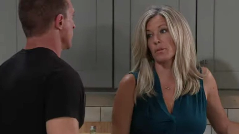Jason and Carly on General Hospital.