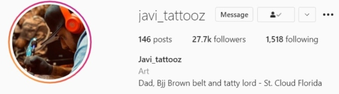 "javi gonzalez erased ""engaged"" from his instagram profile"