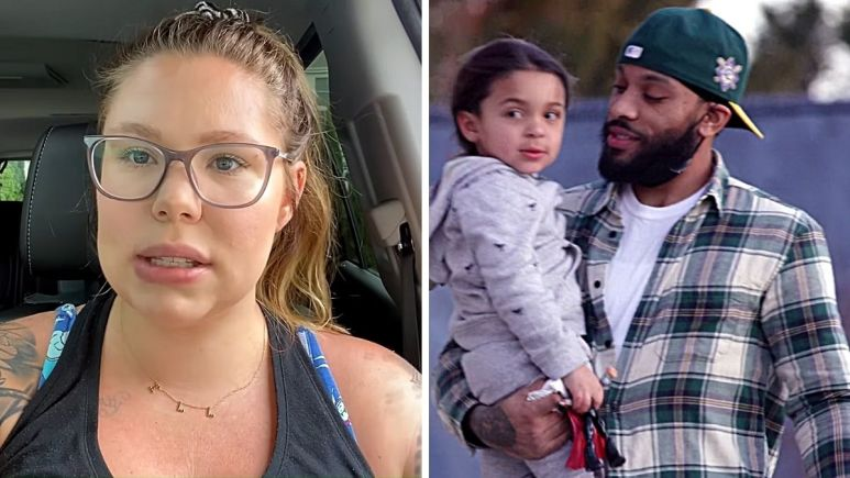 Kail Lowry, Lux and Chris Lopez of Teen Mom 2