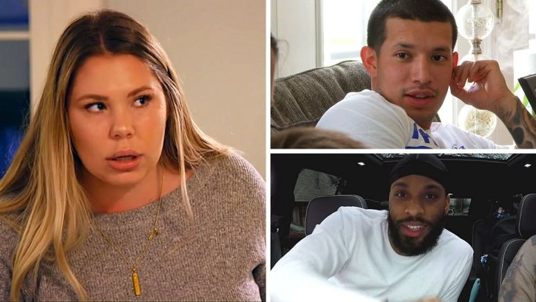 Kail Lowry of Teen Mom 2 with Javi Marroquin and Chris Lopez