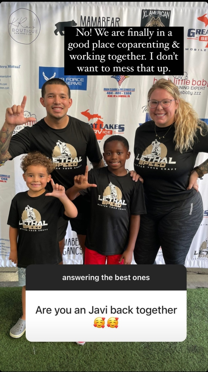 kail lowry of teen mom 2 talks about javi marroquin on instagram