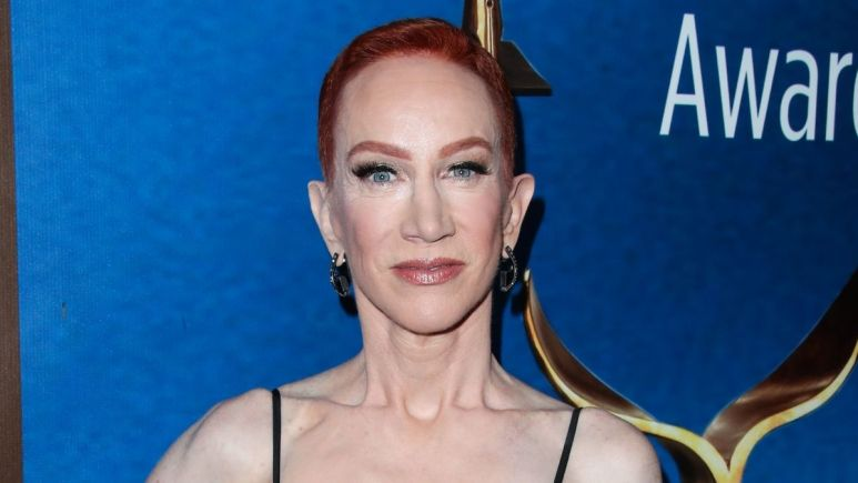 Image of Kathy Griffin on the red carpet