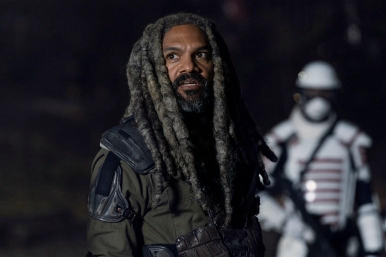 Khary Payton stars as Ezekiel, as seen in Episode 20 of AMC's The Walking Dead Season 10