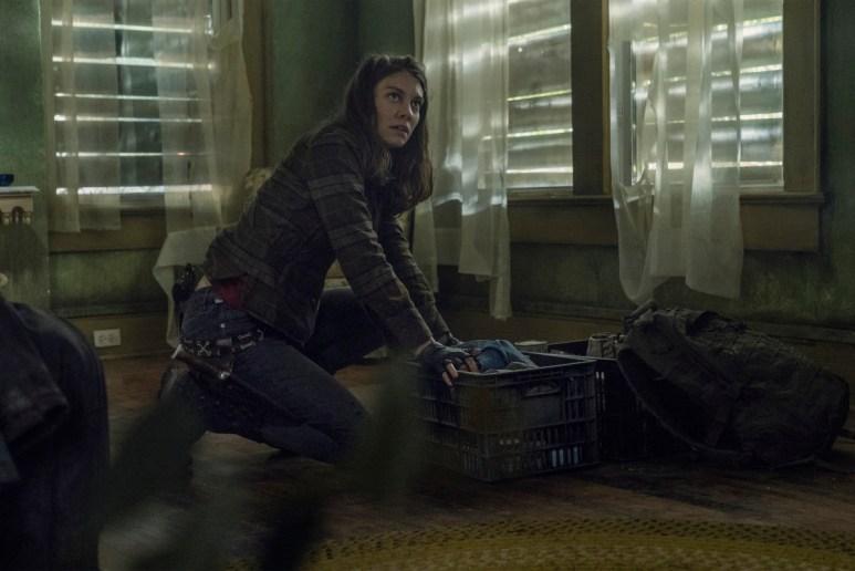 Lauren Cohan stars as Maggie Rhee, as seen in Episode 5 of AMC's The Walking Dead Season 11