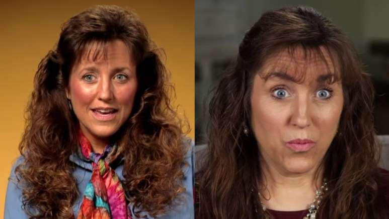 Michelle Duggar than and now.