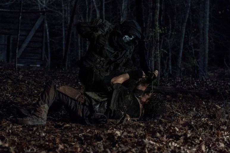 Norman Reedus stars as Daryl Dixon, as seen in Season 11 of AMC's The Walking Dead