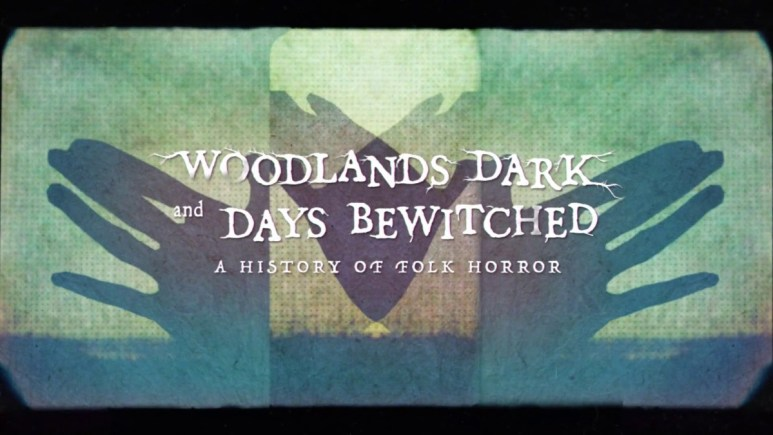 Opening titles from Woodlands Dark and Days Bewitched.