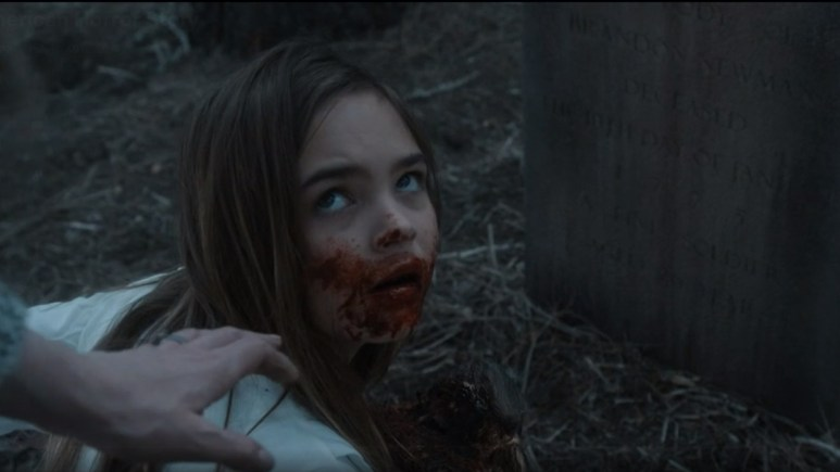 Ryan Kiera Armstrong stars as Alma, as seen in Episode 2 of FX's American Horror Story: Double Feature