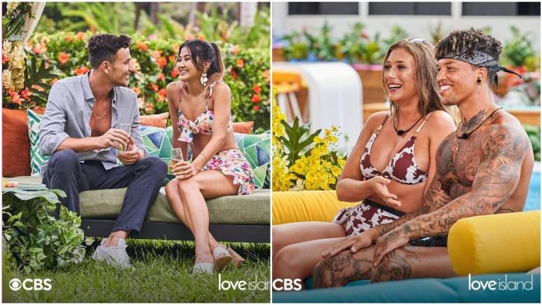 Will and Kyra and Olivia and Korey on Love Island USA