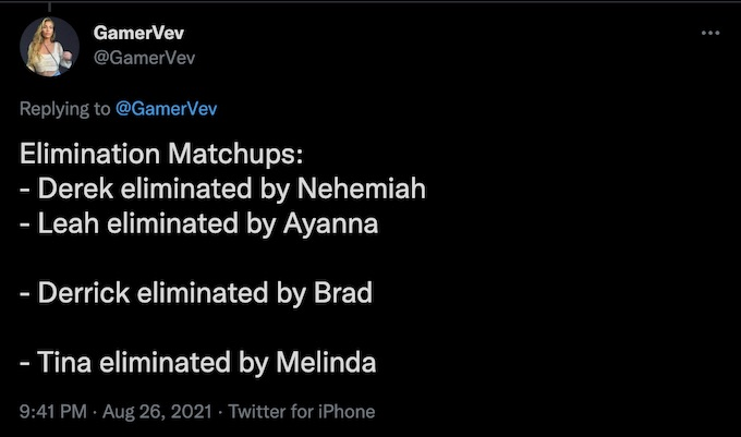 the challenge all stars 2 spoilers for elimination matchups on twitter