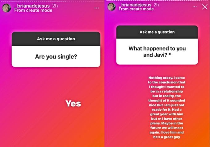 Teen Mom 2 star Briana DeJesus confirm end of engagement to Javi Gonzalez
