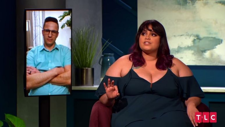 90 Day Fiance:Happily Ever After? stars Tiffany Franco and husband Ronald Smith faceoff at the Tell All