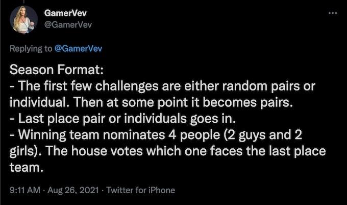 gamervev posts the challenge all stars 2 season spoilers