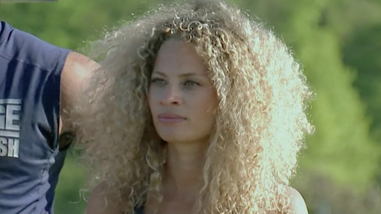 amber borzotra in the challenge season 37 episode 2 daily mission