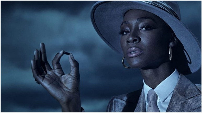 Angelica Ross stars as The Chemist in FX's American Horror Story: Double Feature