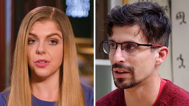 Ariela Weinberg and her ex Leandro on 90 Day Fiance: The Other Way