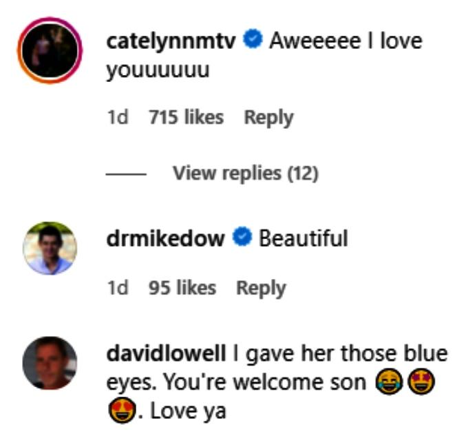 comments on tyler baltierra's instagram post