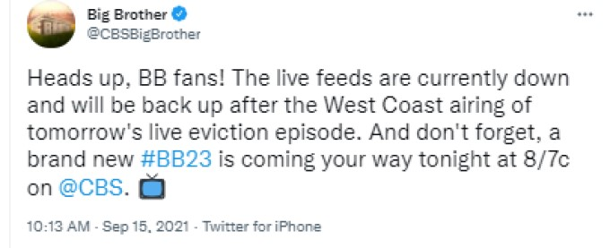 BB Feeds Announcement