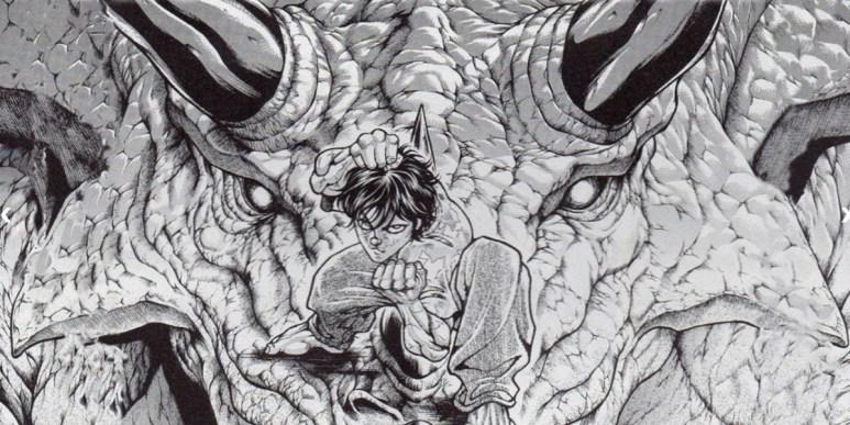 Baki Hanma Manga Dinosaur