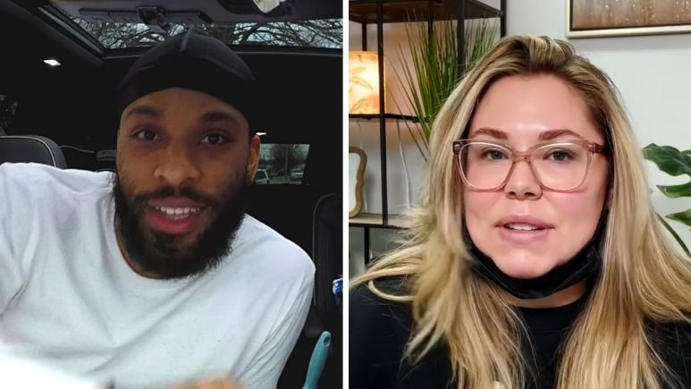 Chris Lopez and Kail Lowry of Teen Mom 2