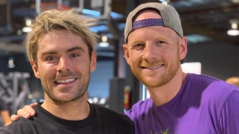 Garrett Hilbert and Zac Efron.