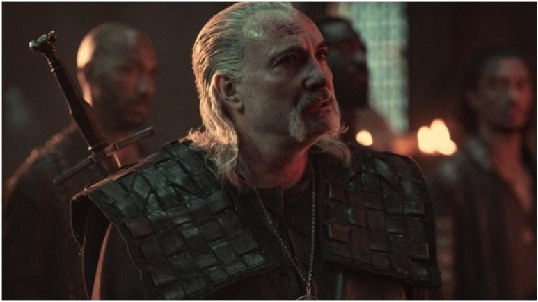 Kim Bodnia stars as Vesemir in Season 2 of Netflix's The Witcher