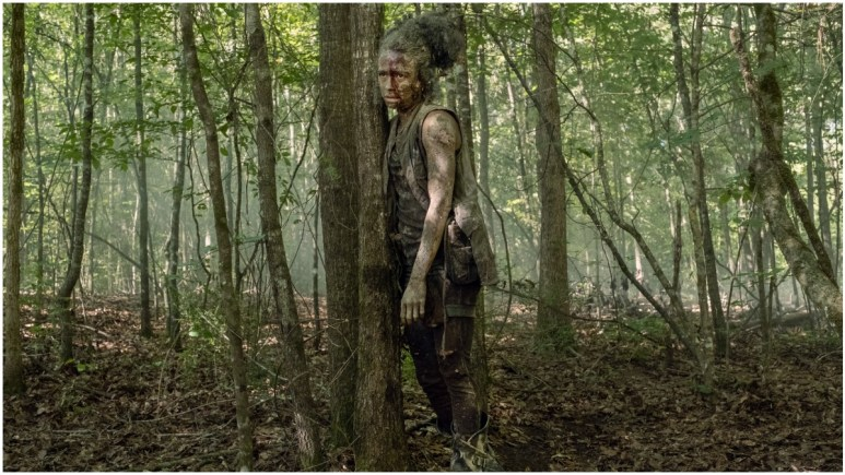 Lauren Ridloff stars as Connie, as seen in Episode 9 of AMC's The Walking Dead Season 10