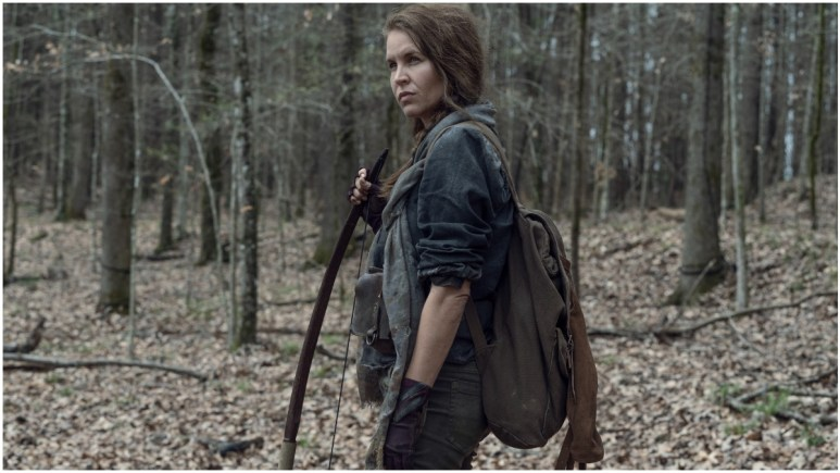 Laurie Fortier stars as Agatha, as seen in Episode 3 of AMC's The Walking Dead Season 11