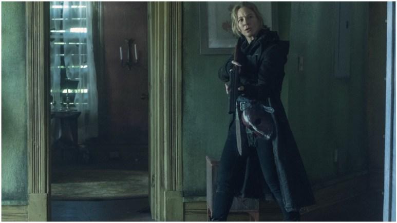 Lynn Collins stars as Leah, as seen in Episode 6 of AMC's The Walking Dead Season 11