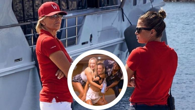 Malia White from Below Deck Mediterranean spills the tea on Captain Sandy friendship, Season 6 crew and her dating life.
