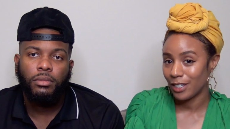 Miles Williams and Karen Landry on Married at First Sight Couples Cam