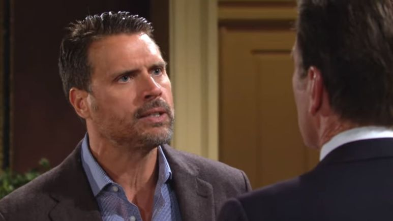 Nick and Jack face-off over Phyllis on The Young and the Restless.