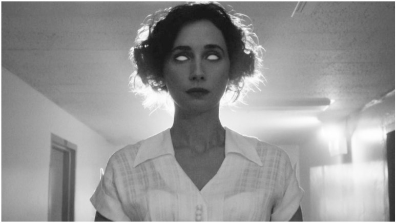 Rebecca Dayan stars as Maria Mycoff in Season 10 of American Horror Story: Double Feature. Pic credit: FX