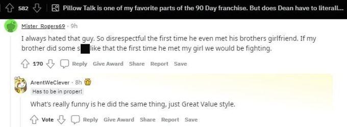 Reddit thread about Dean Hashim